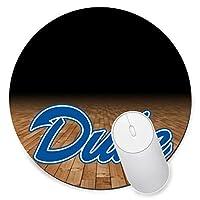 Round Gaming Mouse Pad Creative Custom Non-Slip Mouse Mat-Duke University [並行輸入品]
