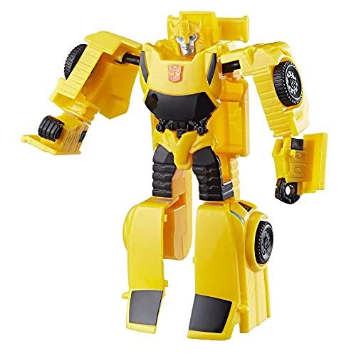 Figura Transformers Authentics Bumblebee - Para crianças acima de 6 anos - E0769 - Hasbro