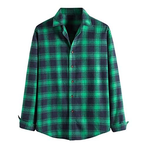 Camisa de los Hombres de Feitong otoño Invierno de Manga Larga Camisa de los
