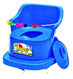 SNDP Baby Potty Seat with Covering Lid Baby Potty Pot, 3 in 1