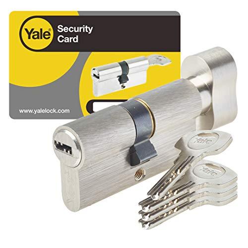 Yale YC1000+ - Cilindro de cerradura, YC1000+ 30X30BT NI