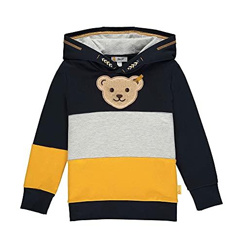 Steiff Jungen Sweatshirt, Navy, 104