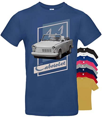 BuyPics4U T-Shirt mit Motiv Trabant 2Tr32 100% Baumwolle für Herren Damen Kinder viele Farben