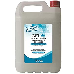 Tahe Dermoprotect Gel Hidroalcohólico Higienizante De Manos Con Perfume 5 Litros 5000 ml