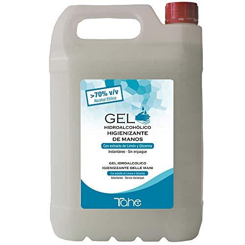 Tahe - Gel Hidroalcohólico Higienizante de Manos 5L