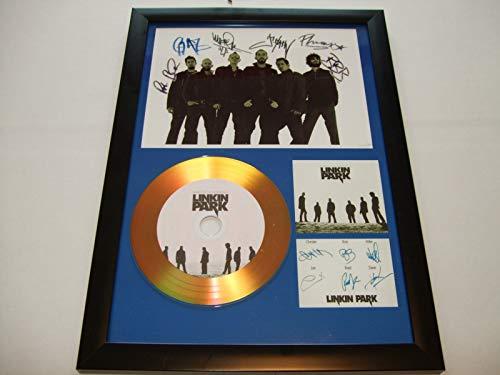 Linkin Park, signierte Goldscheibe