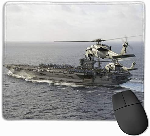 USS Nimitz Sikorsky Sh 60 Seahawk Gaming Mouse Pad Custom Rectangle Mousepad Computer Gaming product image