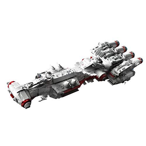 Sci-FI Spacecraft Modelo Conjunto DE CONSTRUCCIÓN, Juguetes de Ladrillos de la Nave Espacial, Bloques de construcción de 2905pcs Compatible con Lego