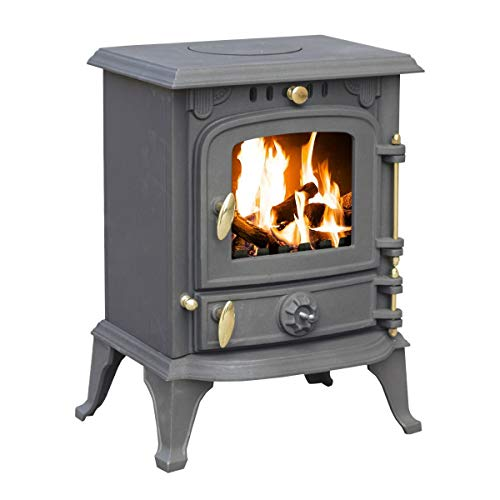 5.5kW Cast Iron Multifuel Woodburning Stove