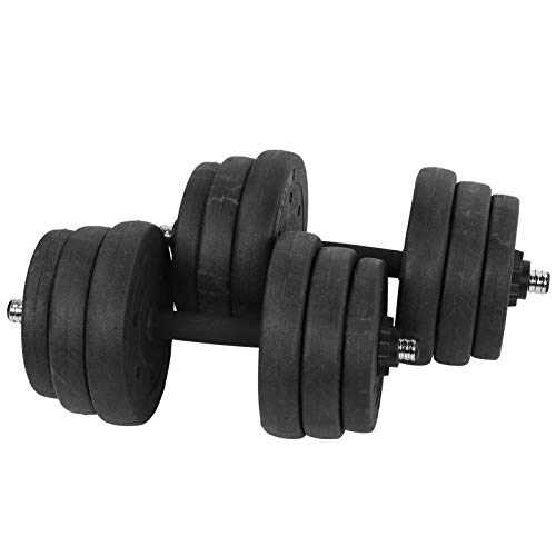 logozoee Fitness Hantel, 25 kg Hantel, 12,5 kg × 2 Fitnessstudio Verstellbar rutschfest für Muskeltraining Fitnessgeräte Sportgerät Übung