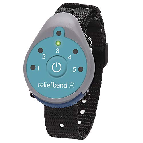Reliefband Classic Anti-Nausea Wristband | FDA Cleared Nausea & Vomiting Relief for Anxiety, Migraine, Motion Sickness (Car, Air, Train, Sea) Hangover & Morning Sickness | Drug Free (Teal)