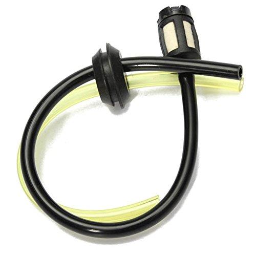FADDR - Kraftstoffleitungen für Rasenmäher in Schwarz + Gelb, Größe 2pcs