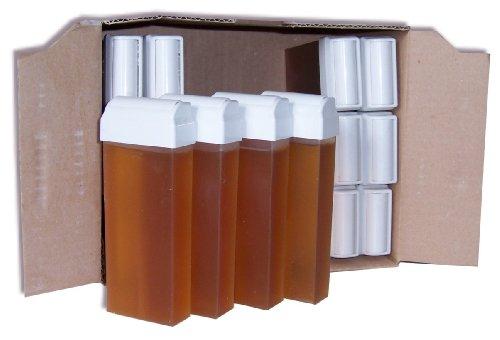 Storepil - 24 recharges 100 ml de cire à épiler Topaz type Miel pour épilation