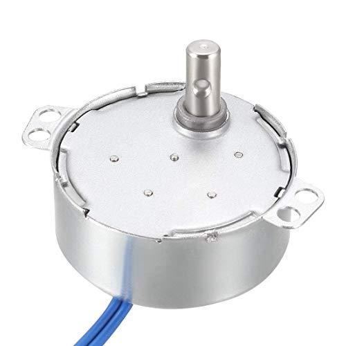 Motore sincrono elettrico a ingranaggi in metallo AC 100-127 V 0,8-1 RPM 50-60 Hz CW 4 W