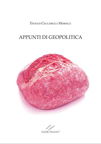 APPUNTI DI GEOPOLITICA (Culture & Progresso)
