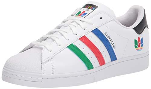 adidas Originals Men's Superstar Sneaker, Green Night/Green Night/Green Night, 8