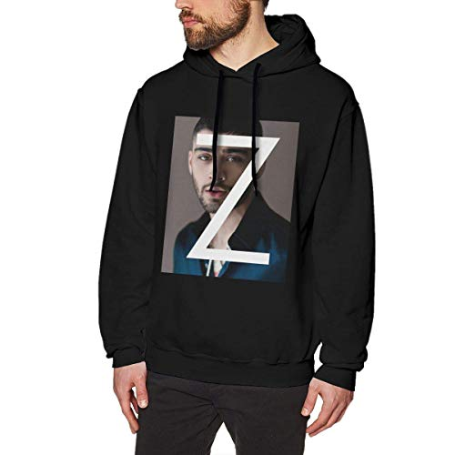 Henrnt Sudadera con Capucha Men's Long Sleeve Hoodie Sweatshirt Zayn Icarus Falls Malik Hooded Sweater Black