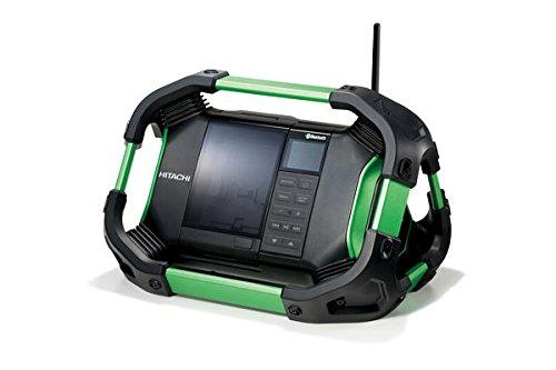 Hitachi UR18DSDL(B) UR 18DSDL Akku Radio, 240 V, Schwarz, Grün