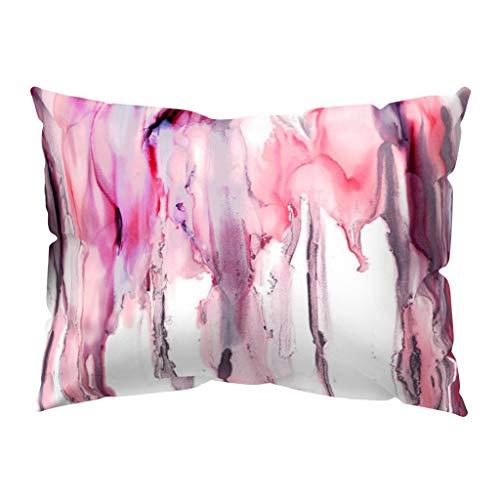 kingko ® Place taie d'oreiller Throw Coussin décoratif Housse de Coussin Style Moderne Super Soft 30cm x 50cm (N)