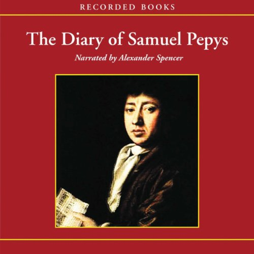 The Diary of Samuel Pepys audiobook cover art