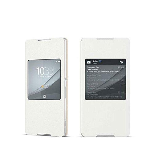 Sony SCR30 funda para teléfono móvil Libro Blanco - Fundas para teléfonos móviles (Libro, Sony, Xperia Z3+, Blanco)