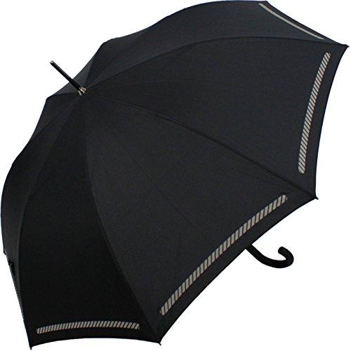 Knirps Automatik Stockschirm - Sicherheitsschirm Reflect (Black)