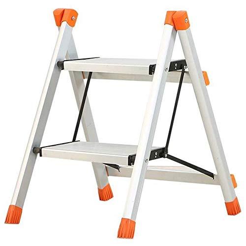 NYDZDM Casalinghi-ladder van aluminiumlegering, 2 sporten