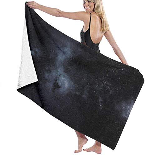 maichengxuan Unisex Beach Towel, Galaxy Star Night Bath Towels Beach Towel Bath Towel Absorbent Soft Swim Towel 130 x 80 cm