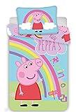 Jerry Fabrics Peppa Pig PEP016 Ropa de Cuna Ropa de Cuna 100x135 CM