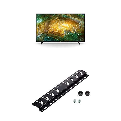 Sony KD-55XH8096 Bravia 139 cm (55 Zoll) Fernseher (Android TV, LED, 4K Ultra HD (UHD), High Dynamic Range (HDR), Smart TV, Sprachfernbedienung, 2020 Modell) Schwarz + Wandhalterung für BRAVIA TVs