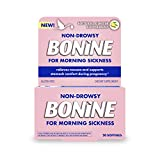 Non-Drowsy Bonine for Morning Sickness, with Natural Concentrated Ginger, 20 Count