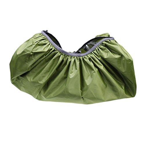 MagiDeal Nylon Housse Anti-Pluie Anti-poussière Anti-déchirure Couverture Protection pour Sac à Dos Randonnée Alpinisme - armée Verte, L