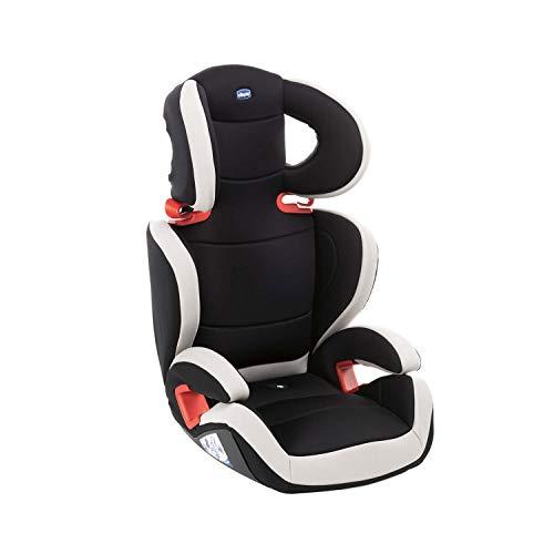 Chicco Key 23 Seggiolino Auto 15-36 kg, Reclinabile, Gruppo 2 3 per Bambini da 3 a 12 Anni, Facile da Installare, Altezza e Larghezza Regolabili, Nero