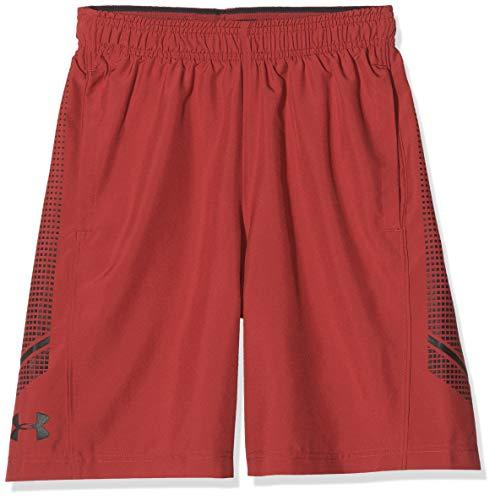 Under Armour Short UA Woven Graphic, Pantaloncini da Tennis Uomo, Red, XS