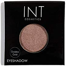 INT Cosmetics Eyeshadow (Highlighter) in Goddess Gold - Single Refill For Palettes & Kits