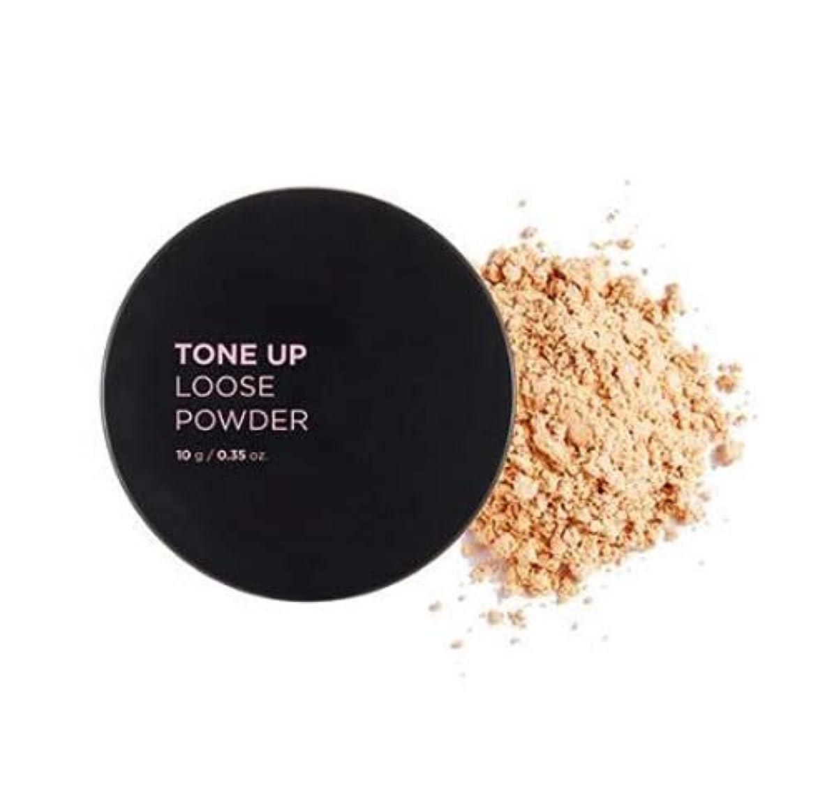 現代段階割合[ザ?フェイスショップ] THE FACE SHOP [トンアップルースパウダー 10g] Tone Up Loose Powder 10g [海外直送品] (#01. Apricot Beige)