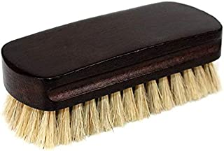 Boot Brush Cleaner Shine Shoe Pig Bristles Brush with Wood Handle Household Cleaning Tools & Accessories Cleaning Brushes ...