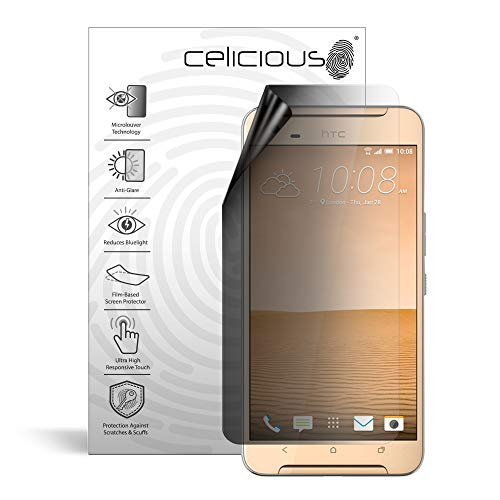 Celicious Privacy Lite 2-Way Anti-Glare Anti-Spy Filter Screen Protector Film Compatible with HTC One X9