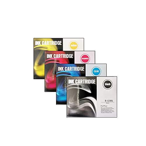Cartuchos de tinta compatibles con Brother LC123 XL MFCJ4610DW MFCJ6520DW MFCJ4410DW MFCJ6920DW MFCJ6720DW DCPJ132W MFCJ870DW J132W J152W J172W J4110DW J552DW J752DW MFC J245