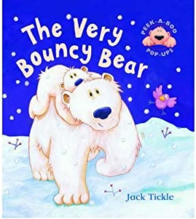 TheVery Bouncy Bear by Tickle, Jack ( Author ) ON Aug-16-2004, Board book