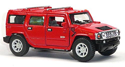 Hummer H2 SUV rot 2008 1:40 Modellauto 12152 [Spielzeug]
