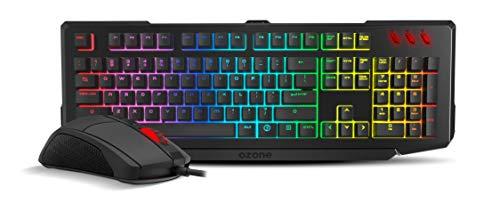 Pack de teclado y ratón gaming de Ozone Double Tap Es