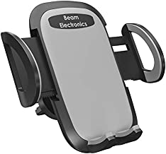 Beam Electronics Universal Smartphone Car Air Vent Mount Holder Cradle for iPhone XS XS Max XR X 8 8 Plus 7 7 Plus SE 6s 6 Plus 6 5s 4 Samsung Galaxy S10 S9 S8 S7 S6 S5 S4 LG Nexus Sony Nokia and More