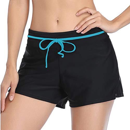 Summer Mae Shorts de Baño Deporte Pantalones Cortos Pantalon Short Bañador Mujeres...