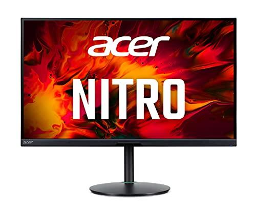 Acer XV272UP Gaming Monitor 27 Zoll (69 cm Bildschirm) WQHD, 144Hz, 1ms (VRB), 2xHDMI 2.0, DP 1.2a, höhenverstellbar, drehbar, HDMI/DP FreeSync