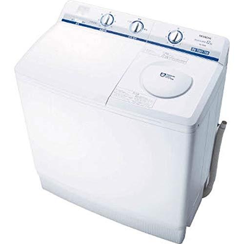 日立 12.0kg 2槽式洗濯機 ホワイトHITACHI 青空 PS-120A-W