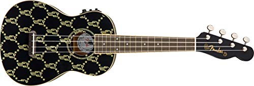 Fender Billie Eilish Ukelele Black Walnut