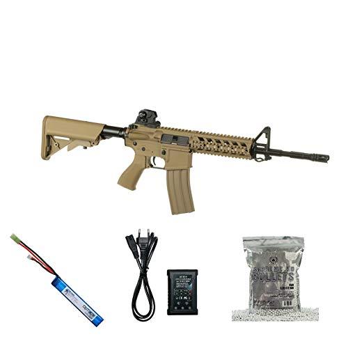 Set !!! Softair - Gewehr - G & G CM16 Raider L - AB 14, Unter 0,5 Joule