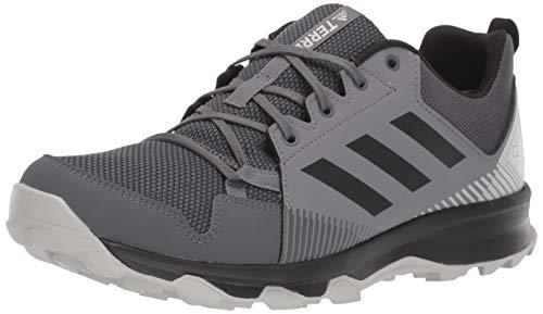 adidas outdoor Men's Terrex Tracerocker GTX Trail Running Shoe, Grey Five/Black/Grey Four, 7 D US