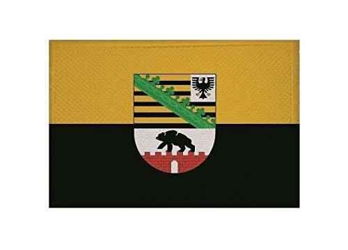 U24 Aufnäher Sachsen-Anhalt Fahne Flagge Aufbügler Patch 9 x 6 cm